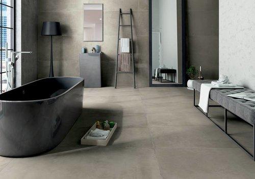 Castelvetro vloertegel FUSION Cemento 60x120 cm Rett.