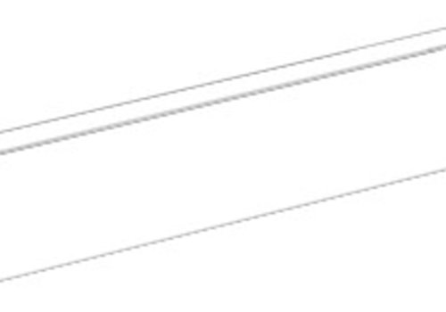 Castelvetro Plint FUSION Bianco 7x60 cm