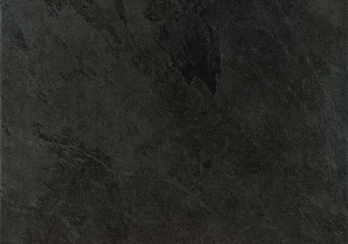 Caesar vloertegel SLAB Black 60x60 cm Rett.
