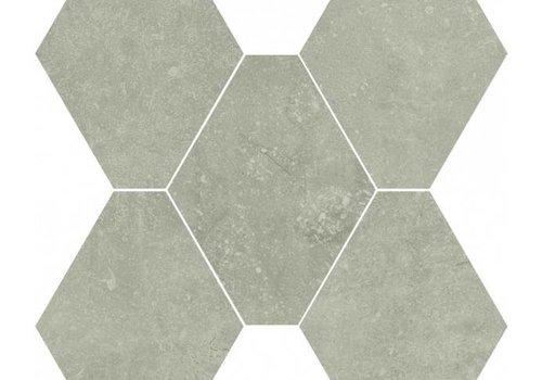 Castelvetro vloertegel ABSOLUTE Esagona Grigio 40x35 cm