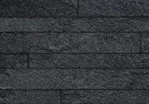 Casalgrande Padana Muretto MINERAL CHROM Black Composizione A 30x60 cm - Naturale