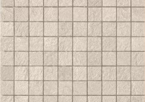 Casalgrande Padana Mozaïek MINERAL CHROM White 3x3 - Naturale