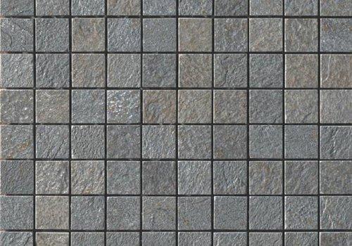 Casalgrande Padana Mozaïek MINERAL CHROM Grey 3x3 - Naturale