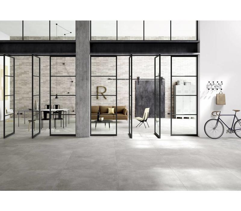 vloertegel XLSTREET Grigio 120x120 cm rett.