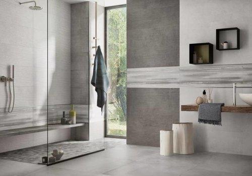 Supergres vloertegel ART Cement 75x75 cm rett.