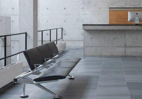 Mosa vloertegel SOLIDS Basalt Grey 60x60 cm - vlak