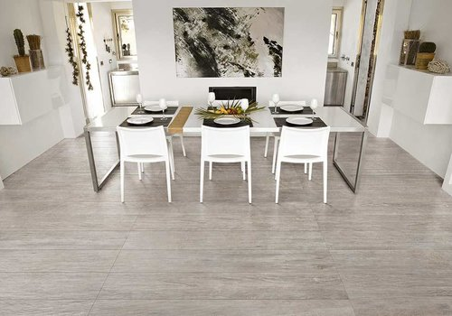 Rex vloertegel SELECTION OAK Grey 15x90 cm - Naturale