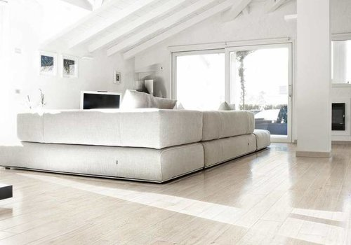 Rex vloertegel SELECTION OAK White 15x90 cm - Naturale