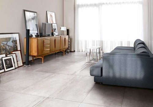 Rex vloertegel LA ROCHE Blanc 80x80 cm - Antique matte