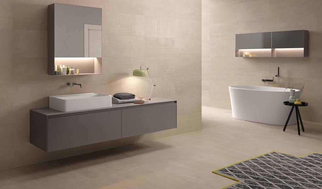 Taupe Kleurige Badkamer : Uitzonderlijk taupe tegels badkamer #lhr65 agneswamu