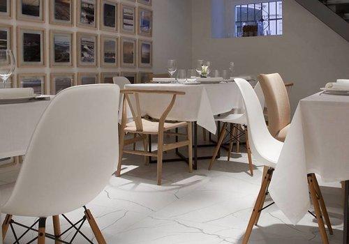 41zero42 vloertegel MATE Marmo Bianco 60x60 cm