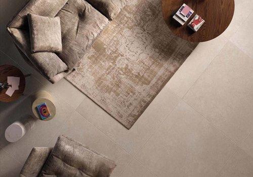 Flaviker vloertegel STILL NO_W Sand 80x80 cm