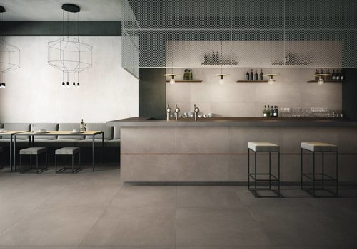 Imola vloertegel AZUMA 60G RM Grey 60x60 cm