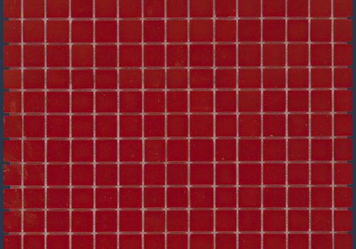 The Mosaic Factory mozaïek AMSTERDAM Silk Crimson Red