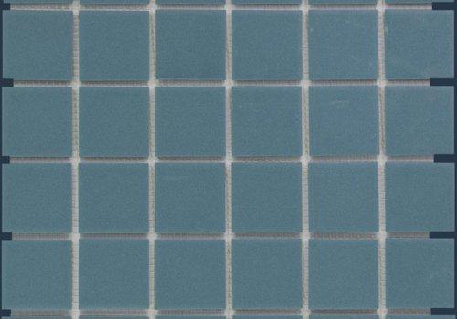 The Mosaic Factory mozaïek LONDON Petrol Blue 48x48