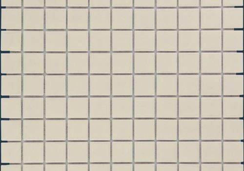 The Mosaic Factory mozaïek BARCELONA Glossy Cream 23x23