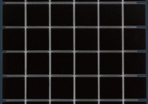 The Mosaic Factory mozaïek BARCELONA Matt Black 48x48