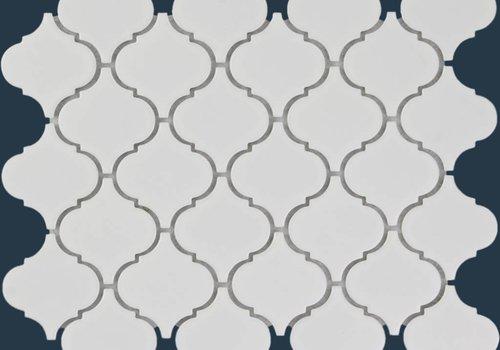 The Mosaic Factory mozaïek PARIS Eastern Lantern Glossy Extra White