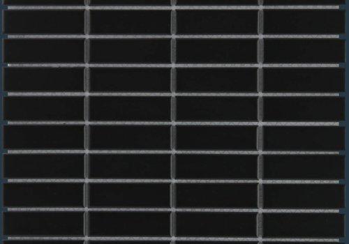 The Mosaic Factory mozaïek PARIS Rectangle Matt Black