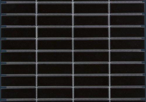 The Mosaic Factory mozaïek PARIS Rectangle Glossy Black