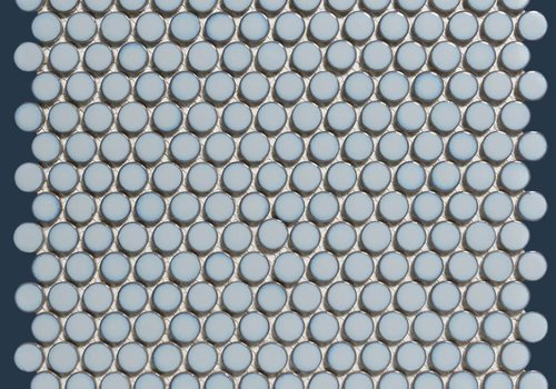 The Mosaic Factory mozaïek VENICE Glossy Light Blue Edge