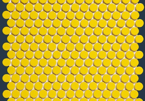 The Mosaic Factory mozaïek VENICE Glossy Yellow