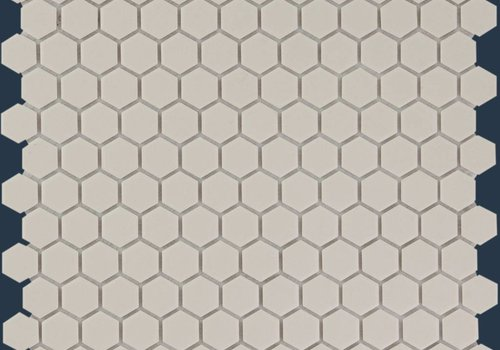 The Mosaic Factory mozaïek LONDON Hexagon White 23x26