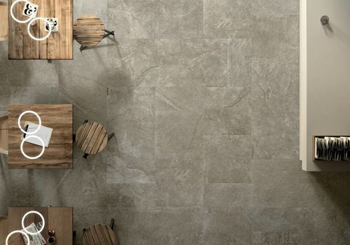 Cerdisa vloertegel Blackboard Mud 60x60 cm NAT
