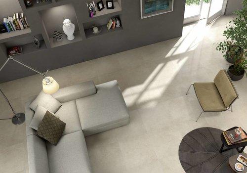 Marazzi vloertegel STONEWORK White 60x60 cm