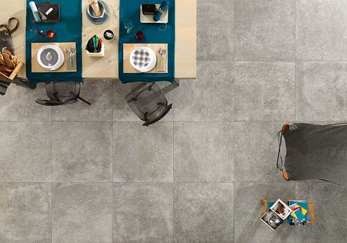 NovaBell vloertegel KINGSTONE Platinum 80x80 cm