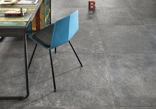 NovaBell vloertegel KINGSTONE Silver 80x80 cm