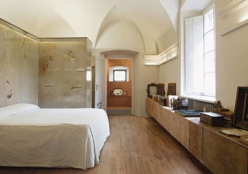 Sant'Agostino vloertegel S.WOOD Brown 20x120 cm