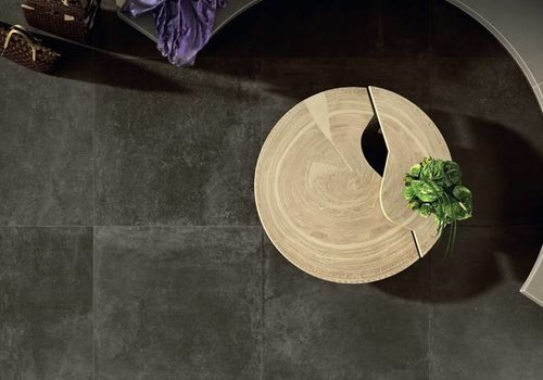 Gazzini vloertegel FUSION Antracite 60x60 cm