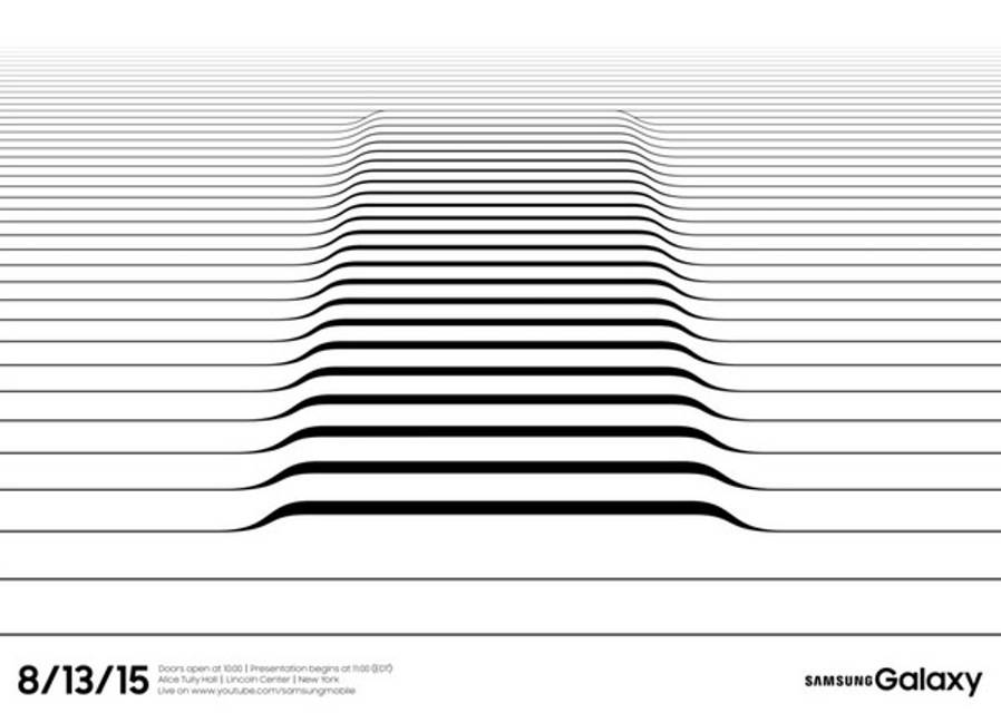 Onthulling Samsung Galaxy Note 5, Galaxy S6 Edge Plus op 13 augustus in New York