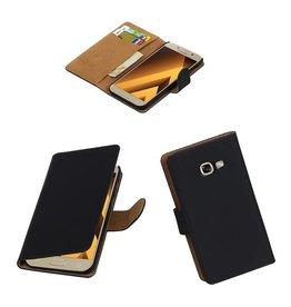 Lelycase Zwart bookcase voor Samsung Galaxy A5 2017 hoesje