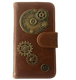 MP Case Samsung Galaxy S8 book case time design bedel pu leder
