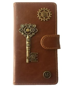 MP Case Samsung Galaxy S8 book case sleutel design bedel pu leder