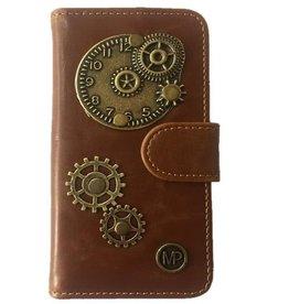 MP Case Time design bedel pu leder Samsung Galaxy S8 Plus book case