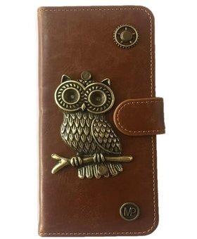 MP Case Uil design bedel pu leder Samsung Galaxy S8 Plus book case