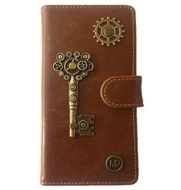 MP Case Sleutel design bedel pu leder Samsung Galaxy S8 Plus book case