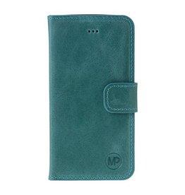MP Case MP Case Samsung Galaxy S8 echt leer bookcase turquoise
