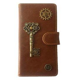 MP Case Bruin Hoesje voor Motorola Moto G5 PLUS Key Bedel