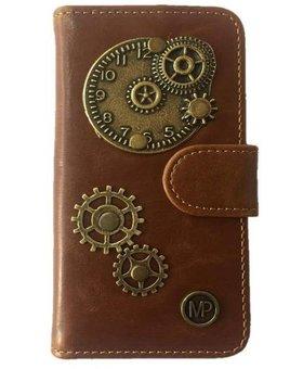 MP Case Bruin Hoesje voor Motorola Moto G5 PLUS Time Bedel
