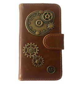 MP Case Mystiek hoesje Motorola Moto C Time Bruin