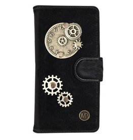 MP Case Mystiek hoesje Apple iPhone 6/6s Time Zwart