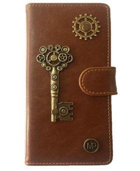 MP Case Mystiek hoesje Motorola Moto G5 PLUS Key Bruin