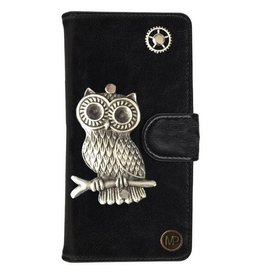 MP Case Mystiek hoesje Motorola Moto G5 PLUS Uil Zwart