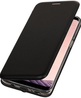 Lelycase Apple iPhone 7 Plus / 8 Plus Folio TPU hoes Zwart