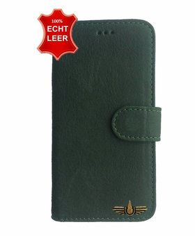 Galata Wallet case iPhone 5 / 5s / SE cover echt leer