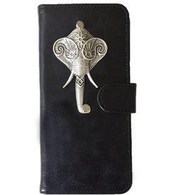 MP Case Motorola Moto C hoesje olifant Zilver
